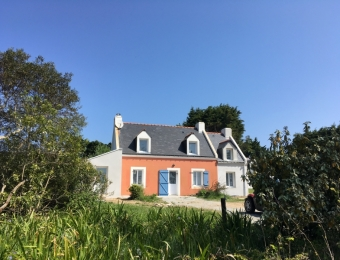 Extension Maison à Belle ile( en cours de réalisation)