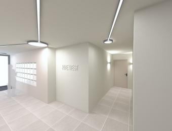 """Hall """"Rive West"""" à Rennes  - en cours de réalisation"""