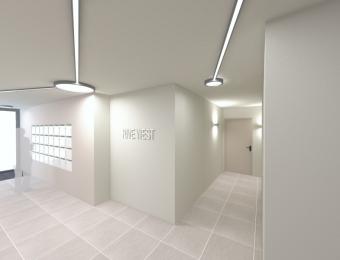 Hall Rive West à Rennes en cours de réalisation