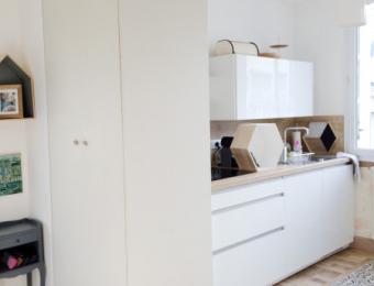 Rénovation appartement Centre Nantes 45m2
