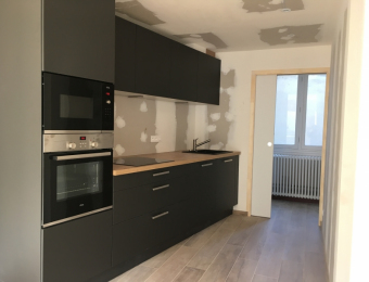 Rénovation appartement 50 m2 à Nantes