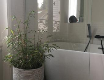 Rénovation d'une salle de bain - Nantes centre